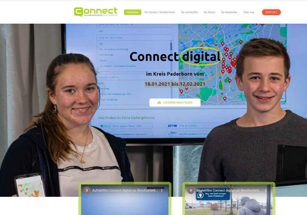 Connect Paderborn Ausbildungsmesse